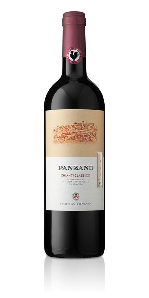 Bottiglia di Panzano Chianti classico gran selezione, venduto dalla cantina Castelli del Grevepesa