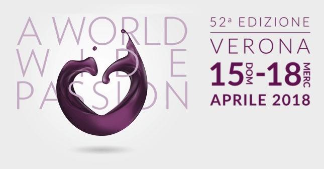 Logo di Vinitaly edizione 2018, a cui ha partecipato con uno stand Castelli del Grevepesa